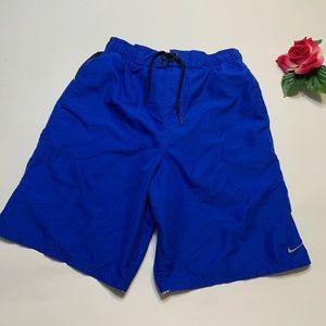 Nike Mens Sz Small Blue Two Tone Swim Trunks